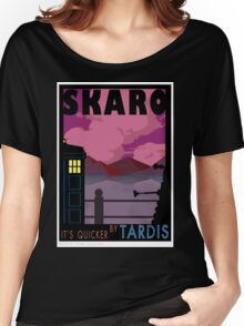 SKARO QUICKER BY TARDIS Women's Relaxed Fit T-Shirt