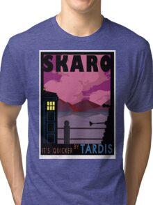 SKARO QUICKER BY TARDIS Tri-blend T-Shirt