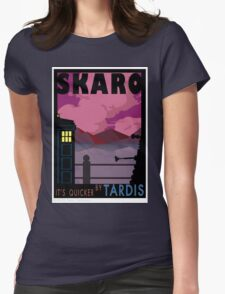 SKARO QUICKER BY TARDIS Womens Fitted T-Shirt