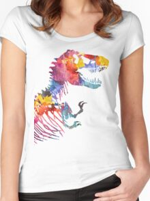 Funkosaurus Rex Women's Fitted Scoop T-Shirt