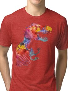 Funkosaurus Rex Tri-blend T-Shirt