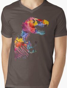 Funkosaurus Rex Mens V-Neck T-Shirt