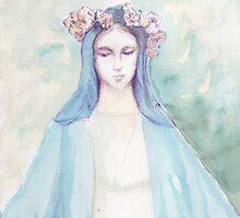 virgin mary by Saph