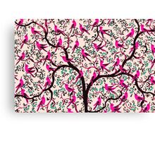 The Bird Tree Canvas Print
