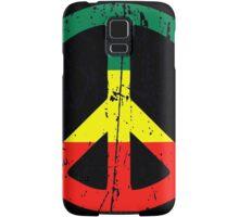 Rasta Peace - Distressed Samsung Galaxy Case/Skin