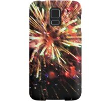 Fireworks at the Oval Samsung Galaxy Case/Skin