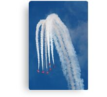 The Red Arrows 13 Canvas Print