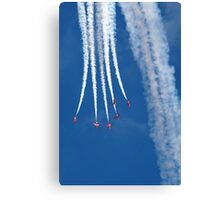 The Red Arrows 14 Canvas Print