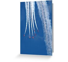 The Red Arrows 14 Greeting Card