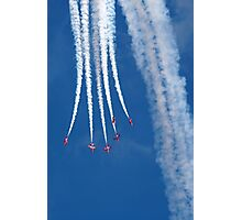 The Red Arrows 14 Photographic Print