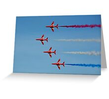 The Red Arrows 12 Greeting Card