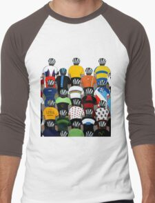 Maillots 2015 Shirt Men's Baseball ¾ T-Shirt
