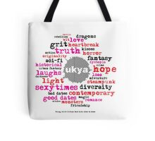 UKYA: wit, grit, love, loss Tote Bag