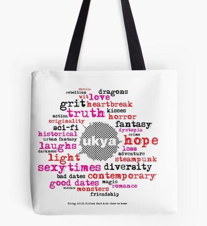 UKYA: wit, grit, love, loss Tote Bag