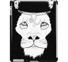 Leo (Black) iPad Case/Skin