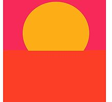 Minimal Sunset  by notonlywaves