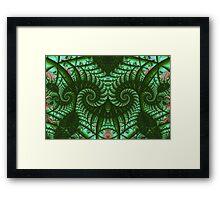 Strange Verdant Vegetation Framed Print