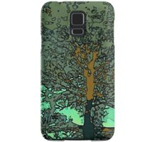 Tree in a puddle Samsung Galaxy Case/Skin