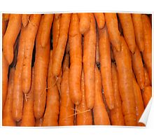 Mmmm Carrots Poster