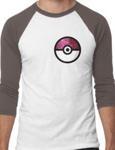 Glitter Pokemon Men's Baseball ¾ T-Shirt