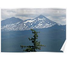 Three Sisters Mountain Poster