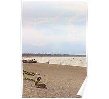 The Paradise Beach - Hoi An, Vietnam. Poster