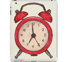 Alarm Clock iPad Case/Skin