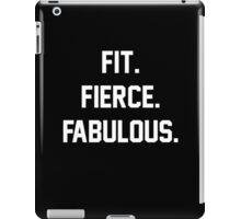 Fit Fierce Fabulous Slogan iPad Case/Skin