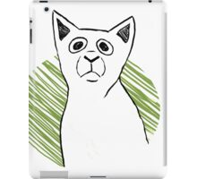 Sketchy Cat iPad Case/Skin