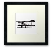Curtiss Fledgling Junior Framed Print