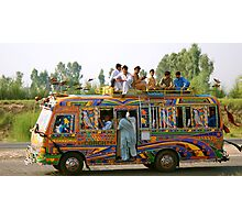 Heppy bus Photographic Print