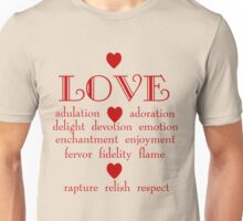 Many Faces of Love Unisex T-Shirt