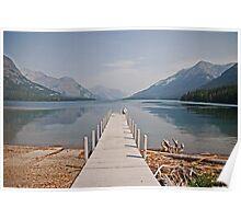 Walk into Waterton Lake  Poster