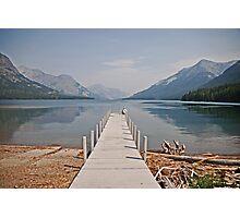 Walk into Waterton Lake  Photographic Print