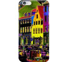Copenhagen. Nyhavn Colors II iPhone Case/Skin
