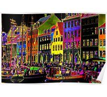 Copenhagen. Nyhavn Colors II Poster