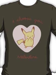 Pikachu Valentine V2 T-Shirt