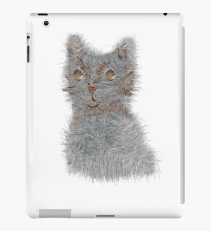 fluff ball iPad Case/Skin