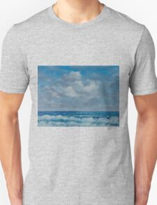 Ocean View Seascape in Oil Unisex T-Shirt