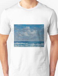 Ocean View Seascape in Oil T-Shirt