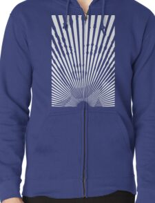 Encrypted Diva Zipped Hoodie