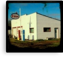 Esso Station Canvas Print