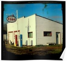 Esso Station Poster
