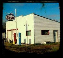 Esso Station Photographic Print