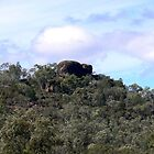 """Elephant Rock "",is a sacred Aboriginal site so it is more or less kept secret. by Virginia McGowan"