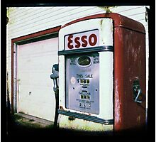 Fill er' Up Photographic Print