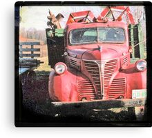 Red Fargo Canvas Print