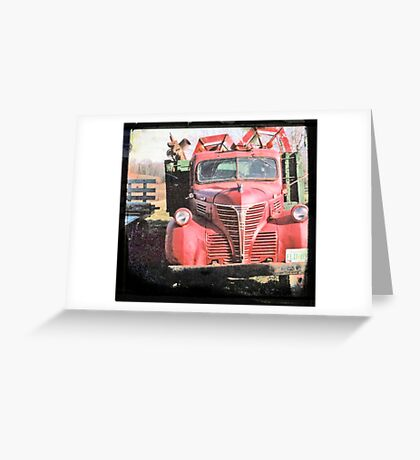 Red Fargo Greeting Card