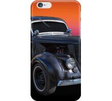 Matt Black iPhone Case/Skin