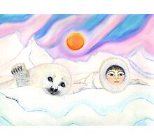Snow Babies Photographic Print